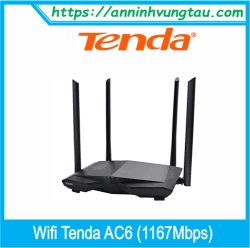 Router Wifi Tenda AC6 (1167Mbps)