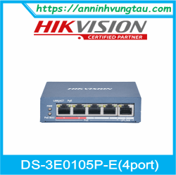 Switch HIKVISION DS-3E0105P-E(B)