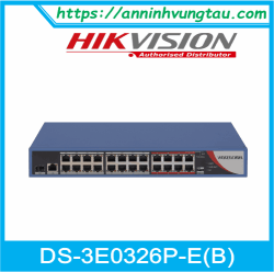 Switch HIKVISION DS-3E0326P-E(B)