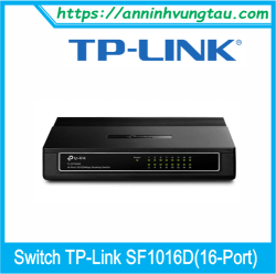 Switch TP-Link SF1016D (16-Port)